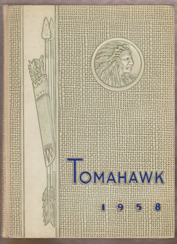 Image for Tomahawk (1958 Yearbook for Culver High School, Culver Indiana)