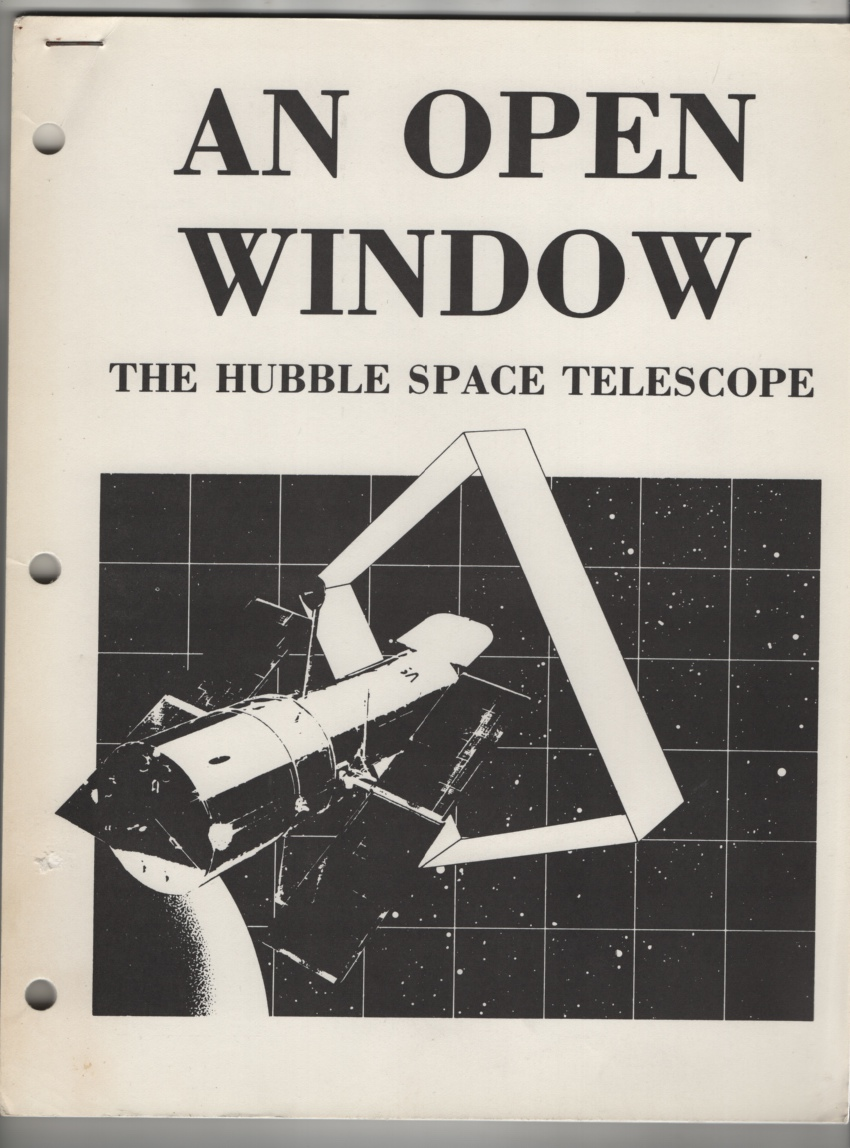 Image for An Open Window: Hubble Space Telescope
