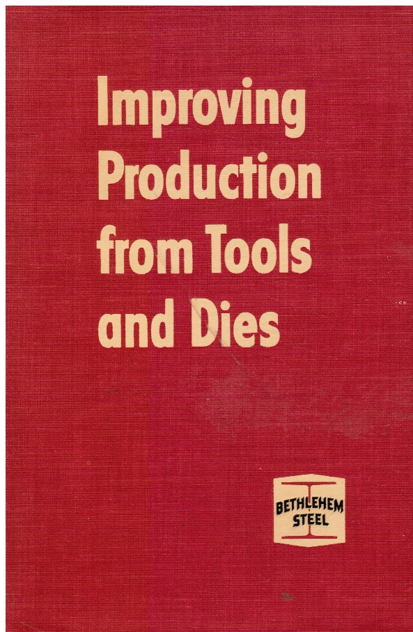 Image for Improving Production From Tools And Dies
