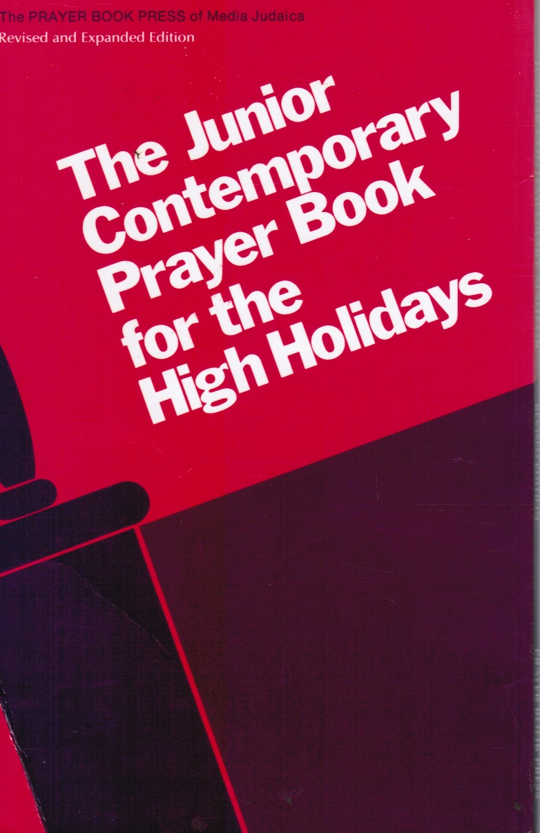 Image for The Junior Contemporary Prayer Book For The High Holidays