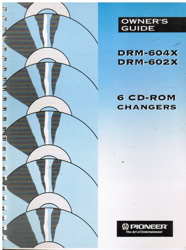 Image for DRM-604X, DRM-602X: Owner's Guide