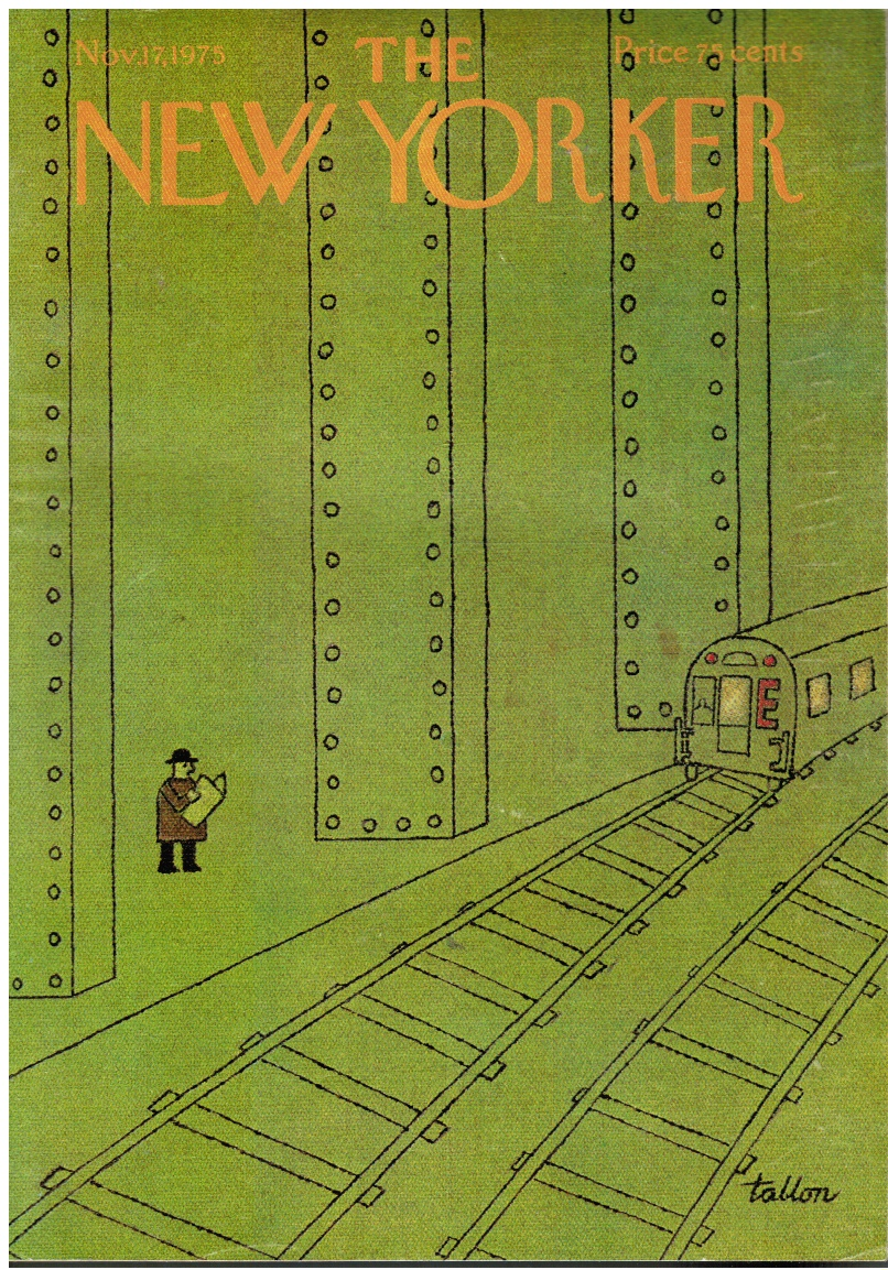 Image for The New Yorker Magazine: Nov 17, 1975 Tanhum by Isaac Bashevis Singer