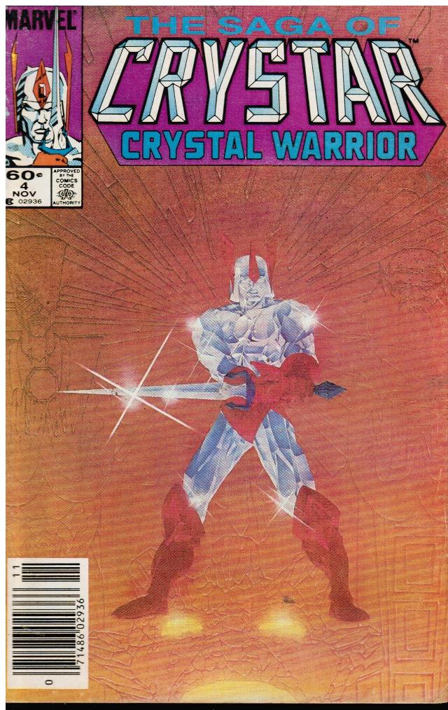 Image for The Saga of Crystar, Crystal Warrior #4