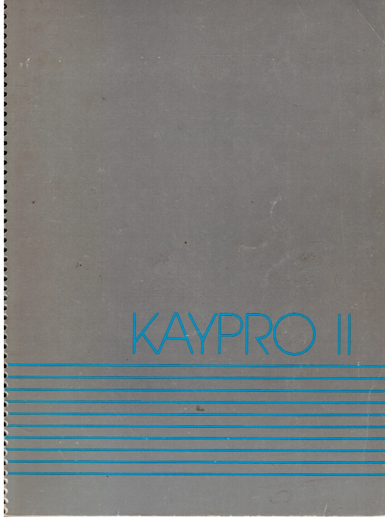 Image for Kaypro II User's Guide