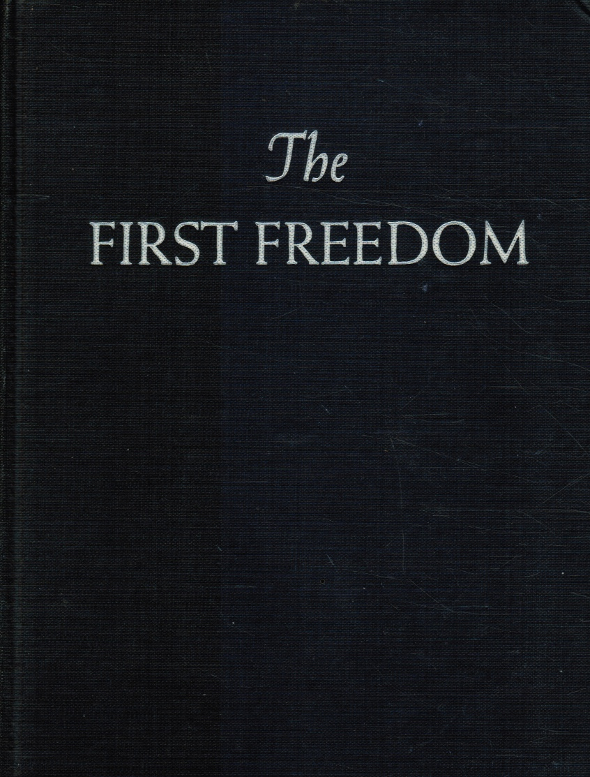 Image for The First Freedom