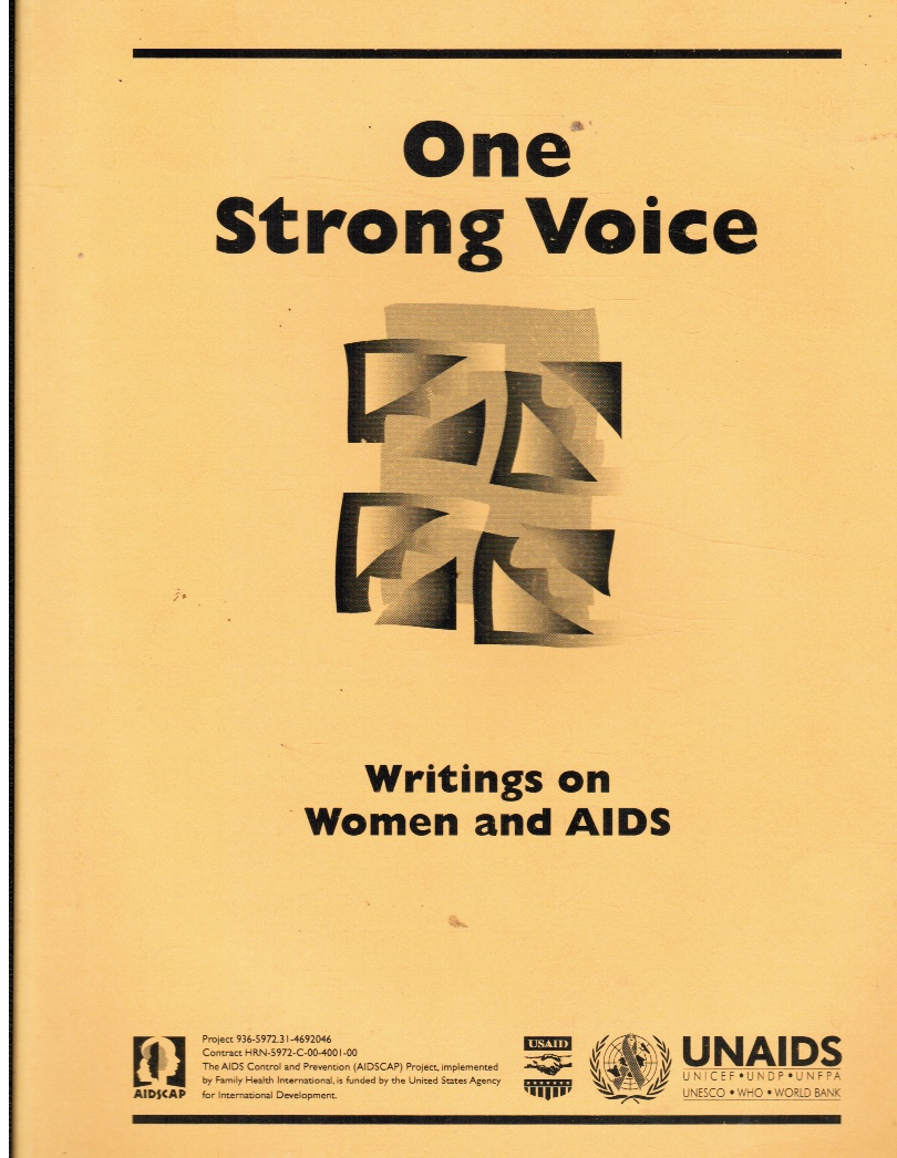 Image for One Strong Voice: Writings on Women and AIDS