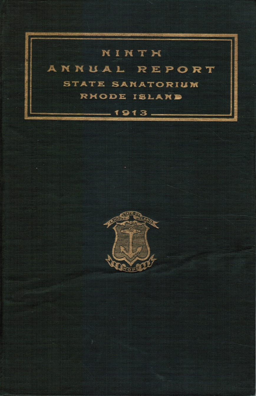 Image for Ninth Annual Report State Sanatorium At Wallum Lake : for the Year Ending December 31, 1913