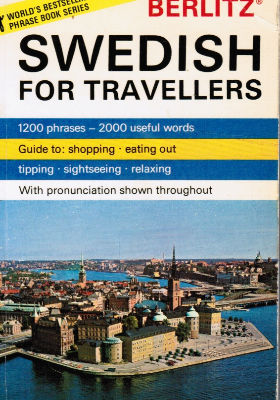 Image for Berlitz Swedish for Travellers