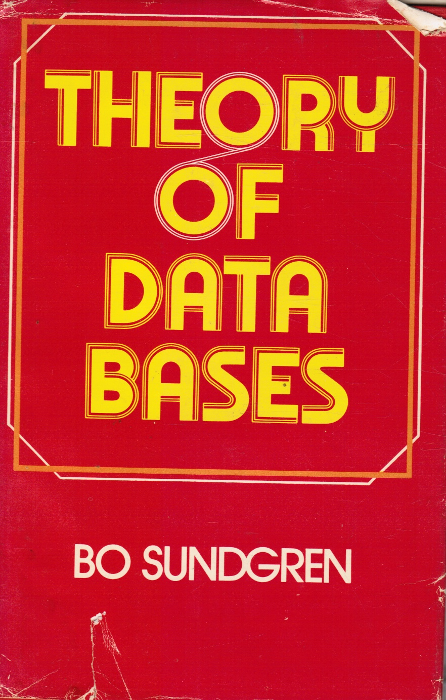 Image for Theory of data bases