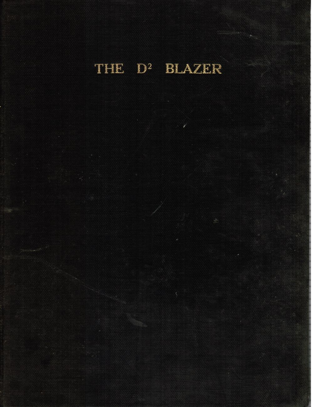 Image for THE D2 Blazer (Baltimore City College) Yearbook