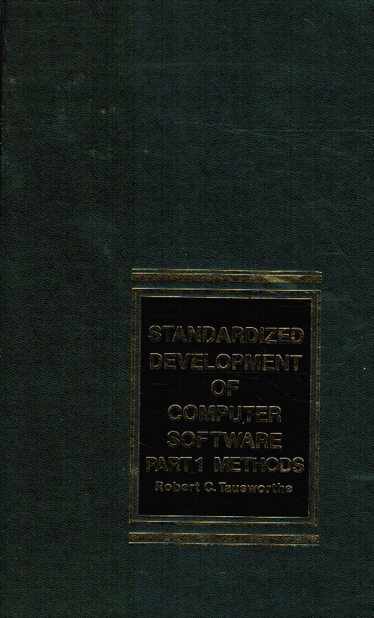 Image for Standardized Development of Computer Software  Part 1 Methods