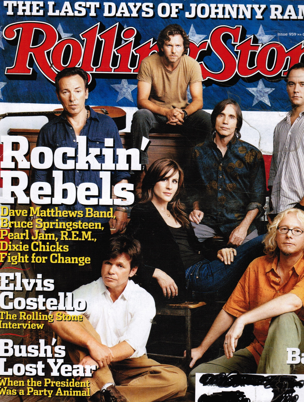 "Image for Rolling Stone Magazine # 959--""ROCKIN' Rebels""---October 14th, 2004"