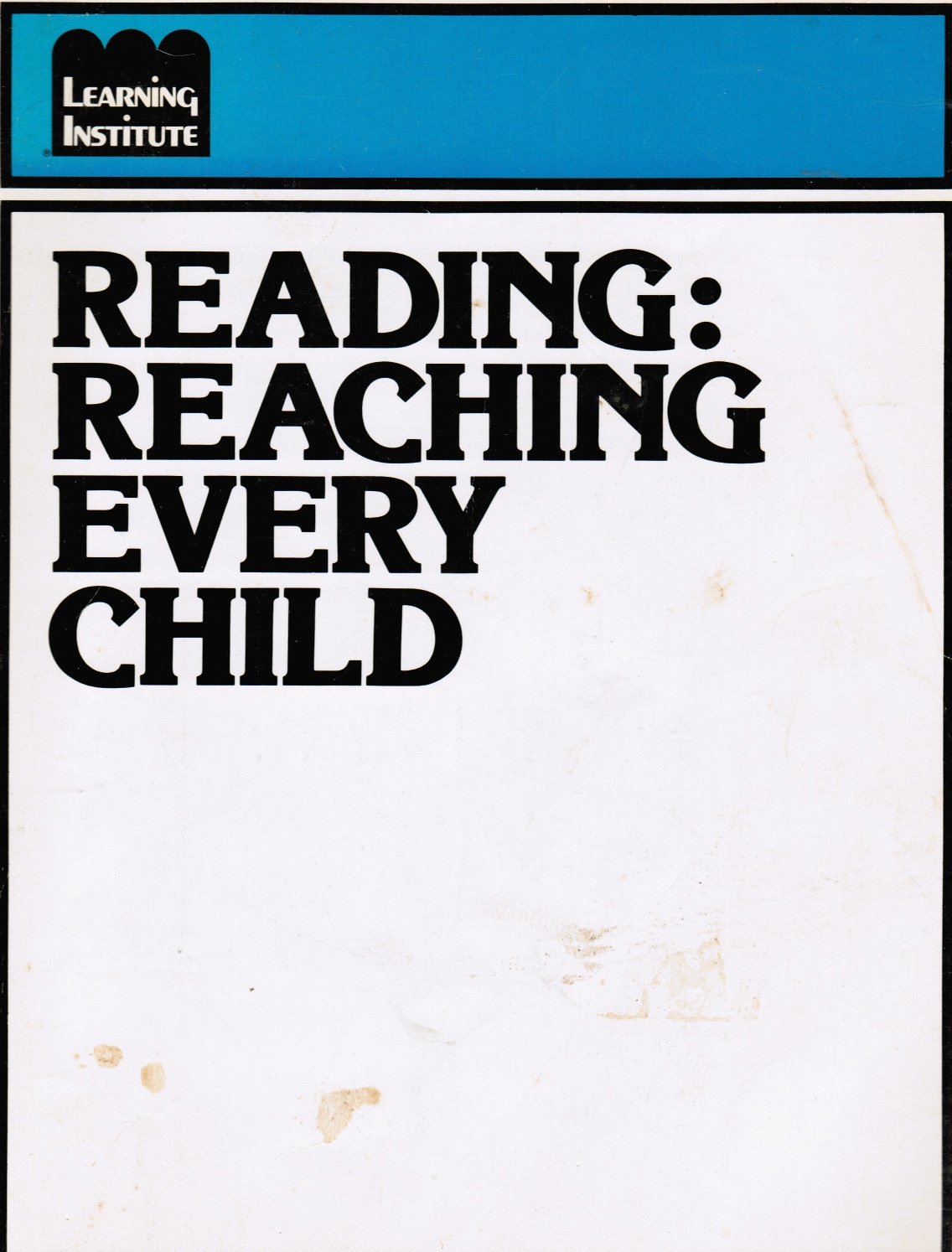 Image for Reading: Reaching Every Child
