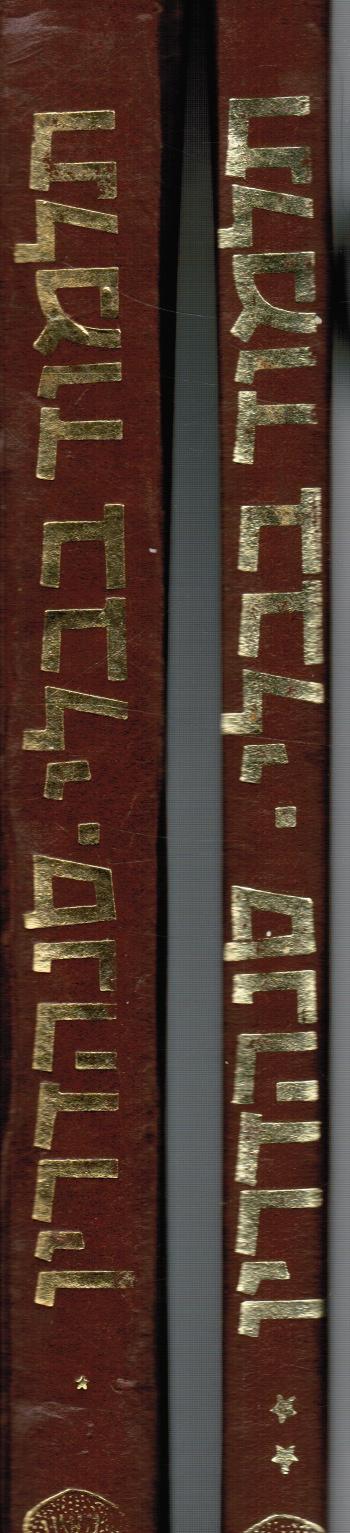 Image for Talmud Bavli: Masseket Sanhedrin (2 Volumes)