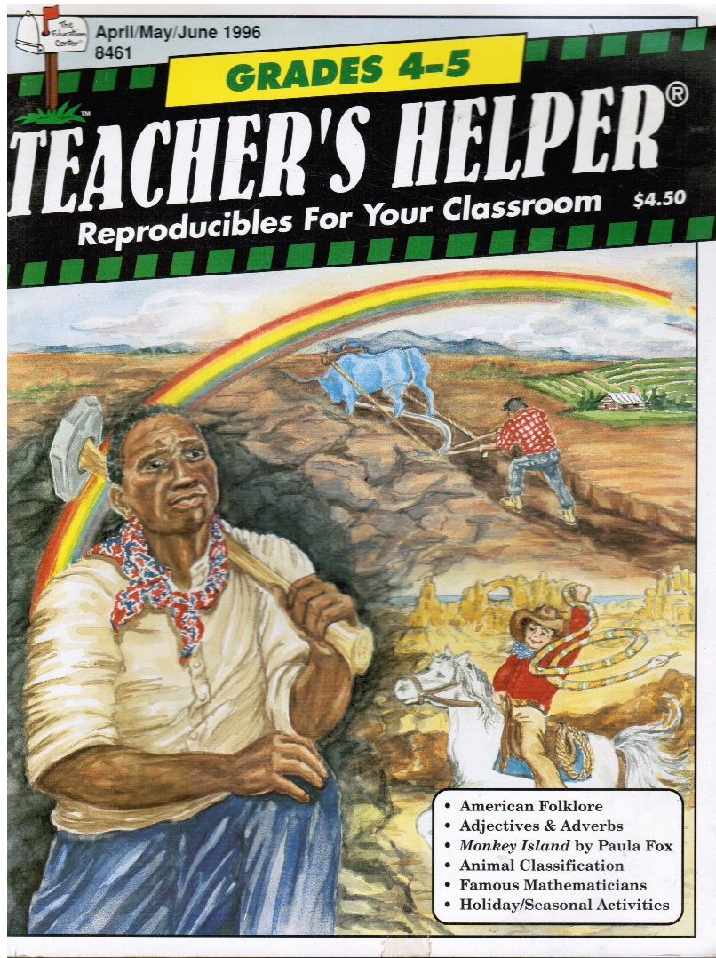 Image for Teacher's Helper Grades 4-5 Reproducibles for Your Classroom