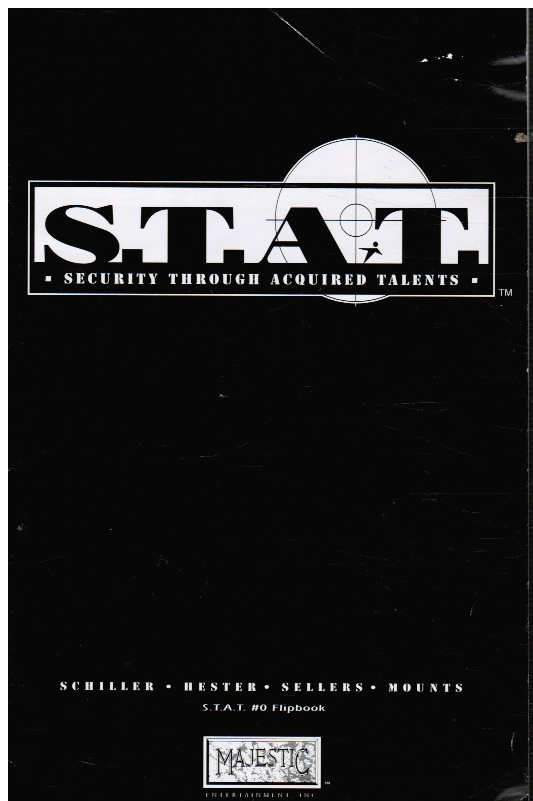 Image for S. T. A. T #0 Security through Acquired Talents and LEGACY Flipbook
