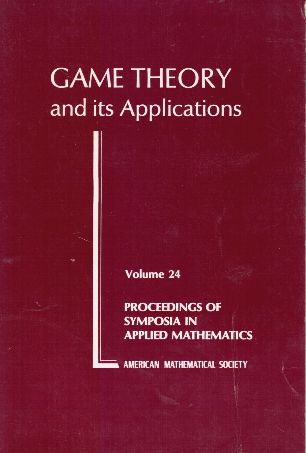 Image for Game Theory and Its Applications