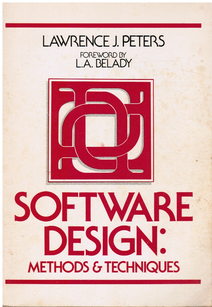 Image for Software Design: Methods & Techniques