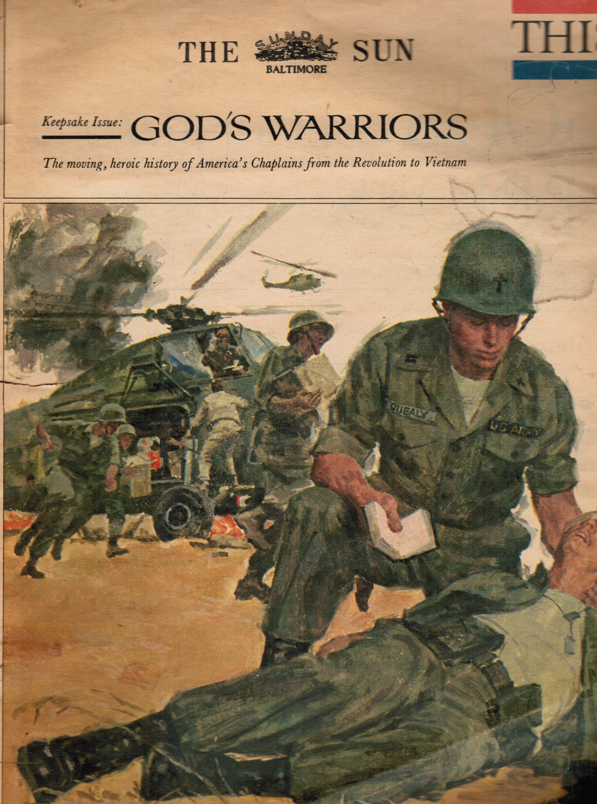 Image for God's Warriors - This Week Magazine, Baltimore Sun March 26, 1967 America's Chaplains