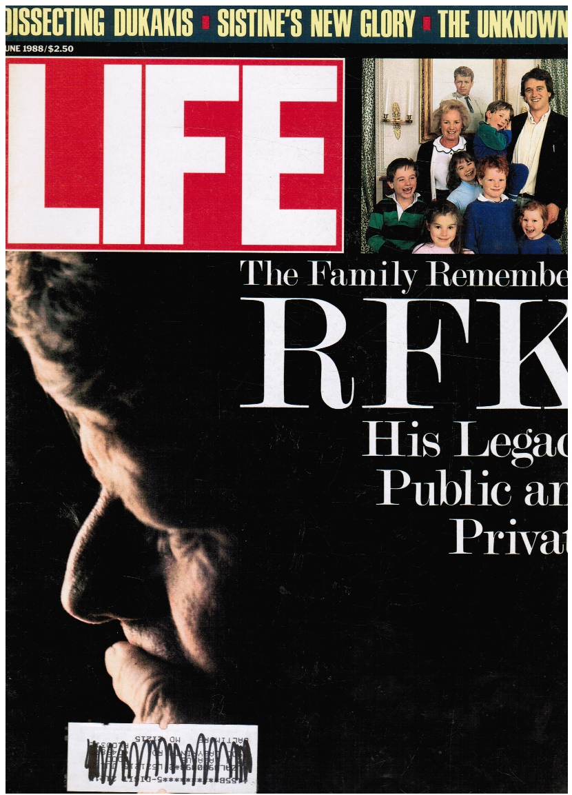 Image for LIFE Magazine - June, 1988 RFK (Robert F Kennedy) Cover