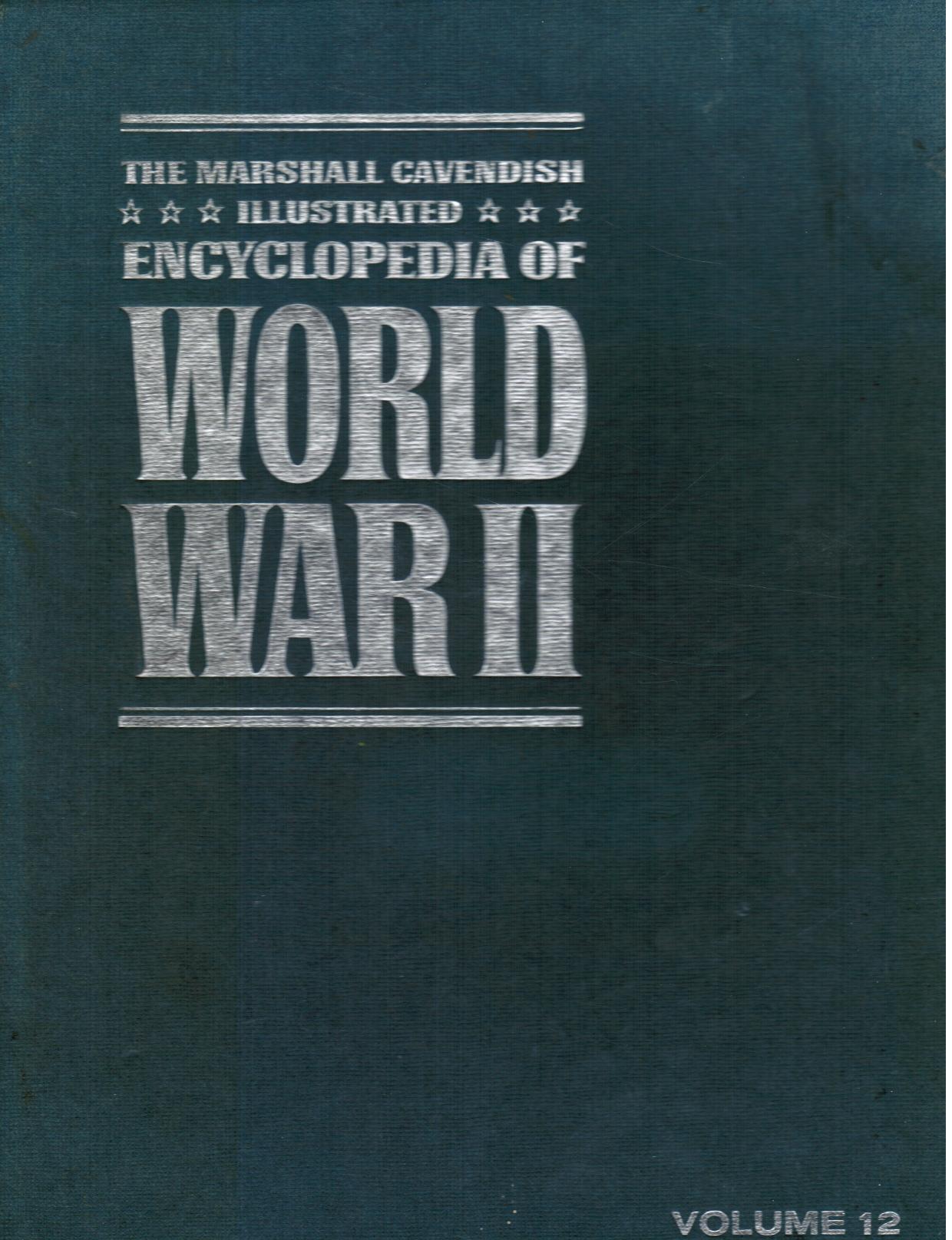Image for The Marshall Cavendish Illustrated Encyclopedia of World War II: Volume 12 -