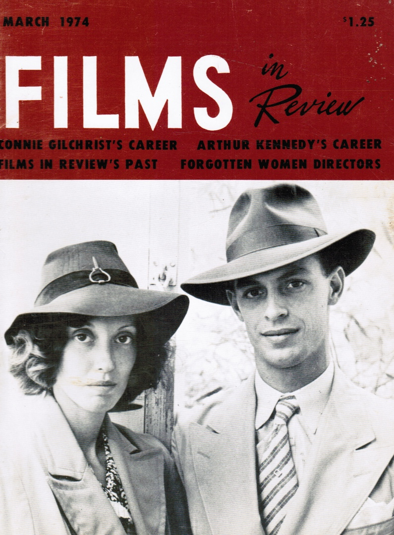 Image for Films in Review / Vol. XXV, No. 3 / March 1974 Shelley Duvall and Keith Carridine (Cover)