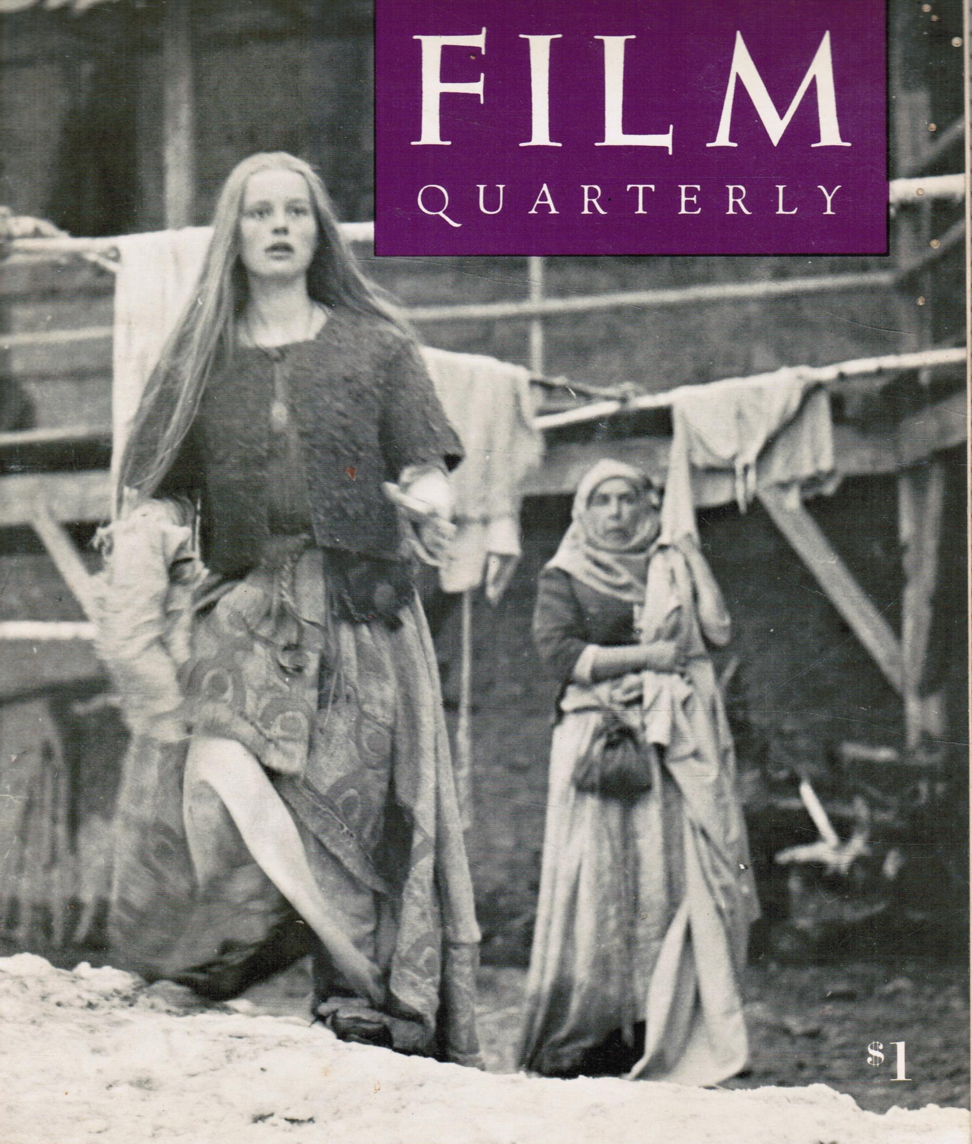 Image for Film Quarterly, Vol. 22, No. 4 Summer, 1969
