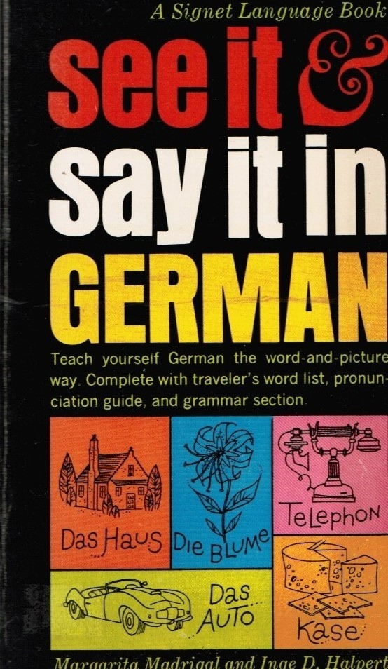 Image for See it and Say it in German