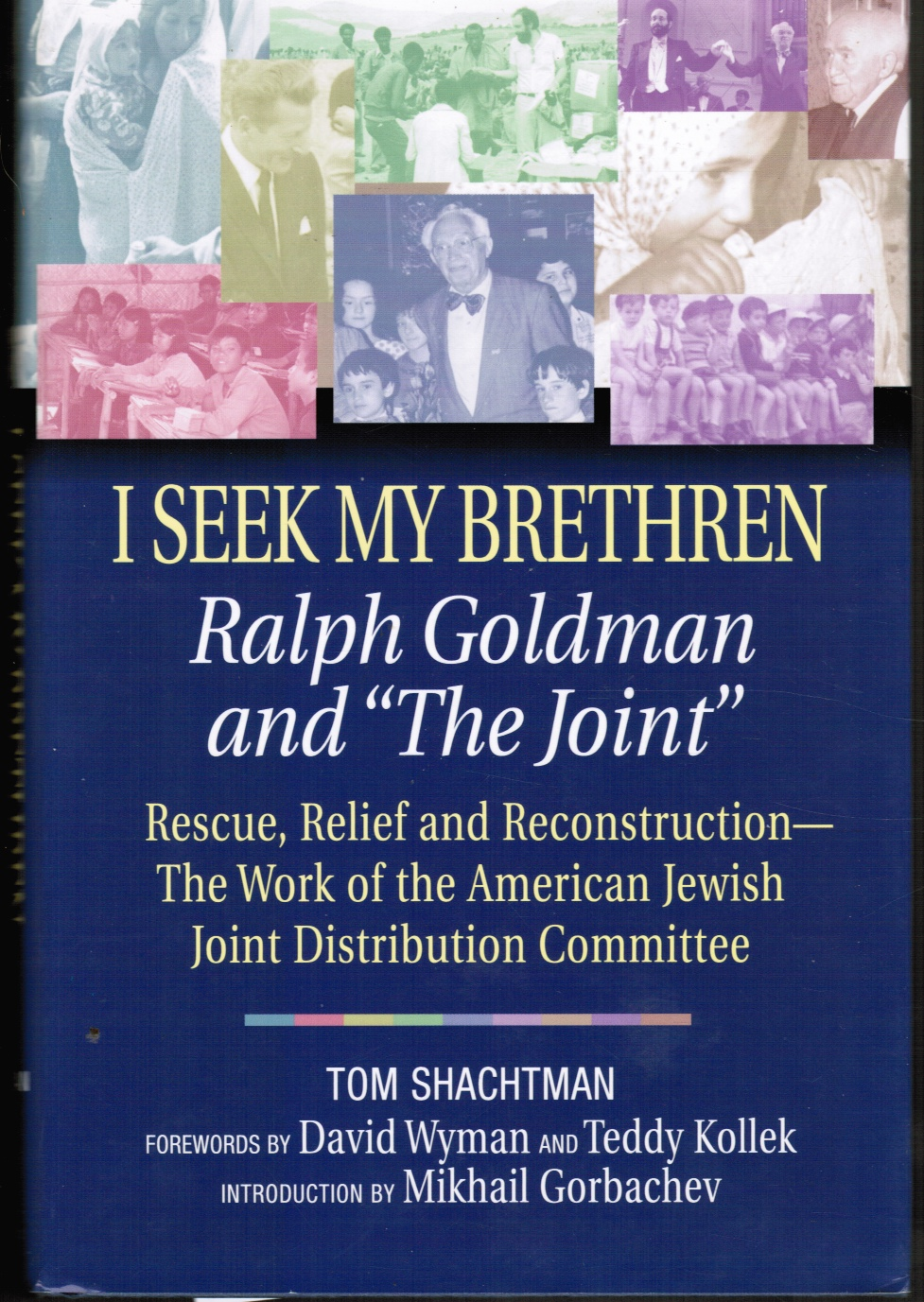 Image for I Seek My Brethren: Ralph Goldman and 'the Joint' : Rescue, Relief, and Reconstruction