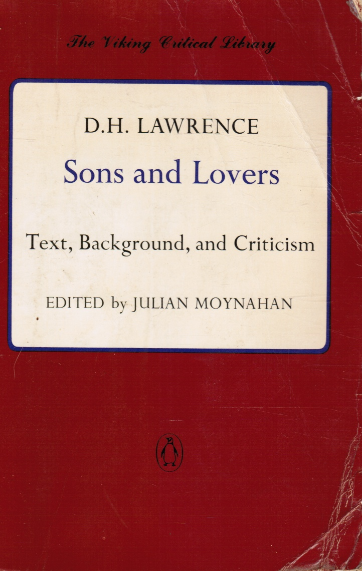 Image for Sons and Lovers: Text, Background, and Criticism