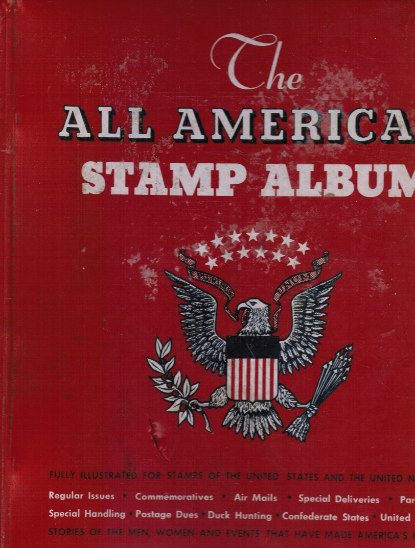 Image for The all American Stamp Album