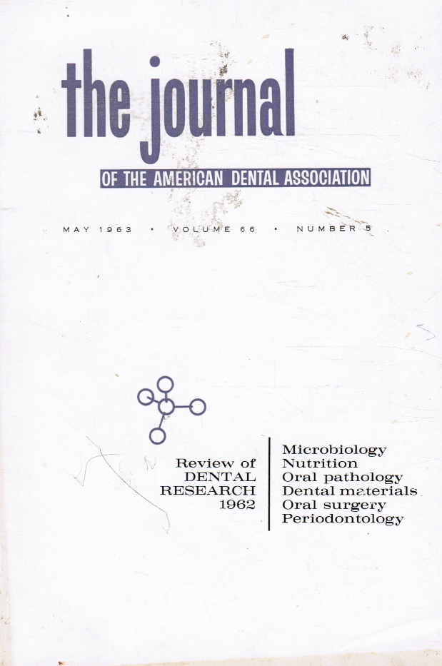 Image for JADA: the Journal of the American Dental Association: May 1963