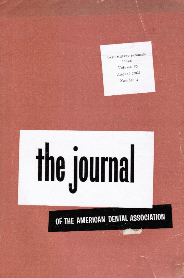 Image for JADA: the Journal of the American Dental Association: August 1962