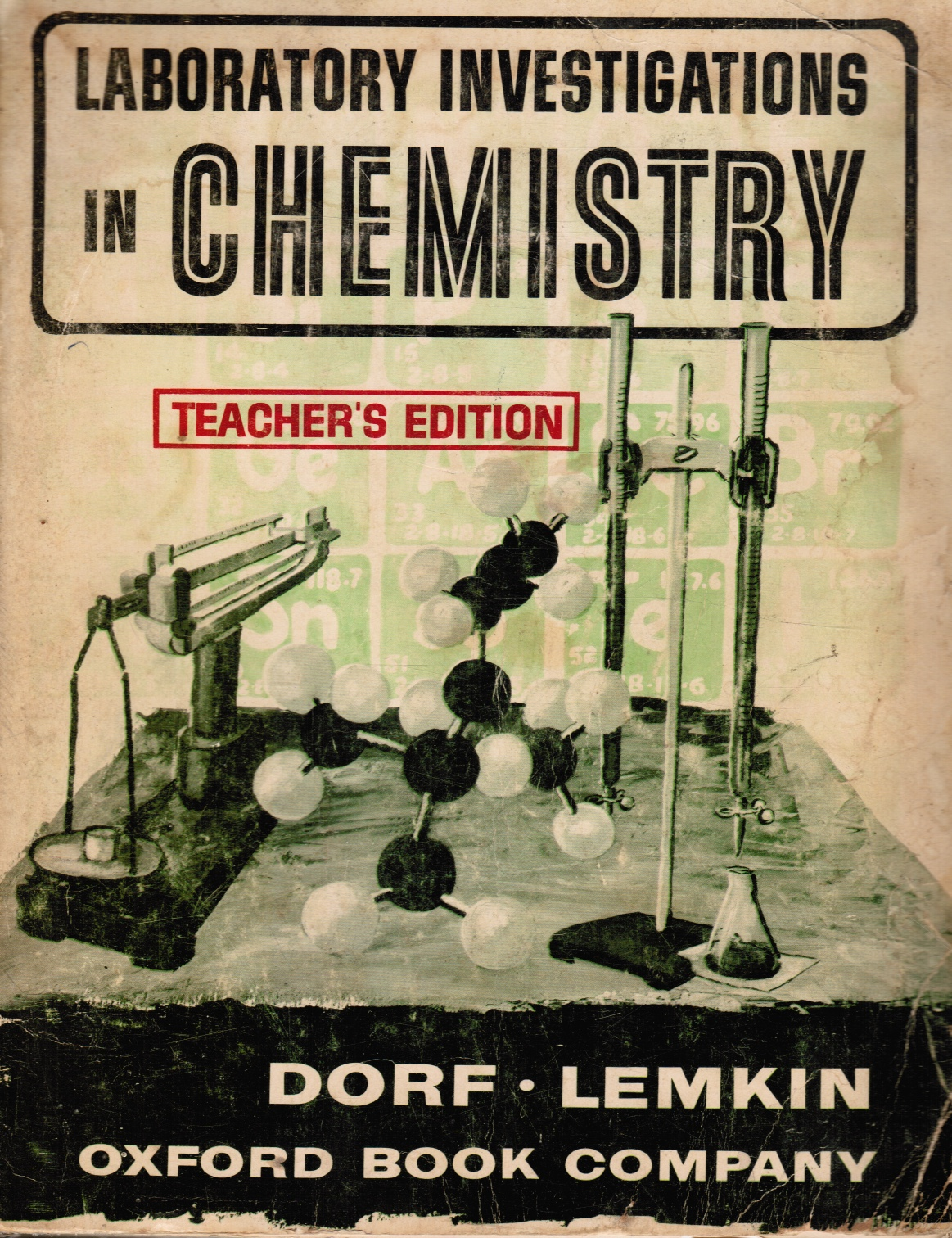 Image for Laboratory Investigations in Chemistry (Teacher's Edition)