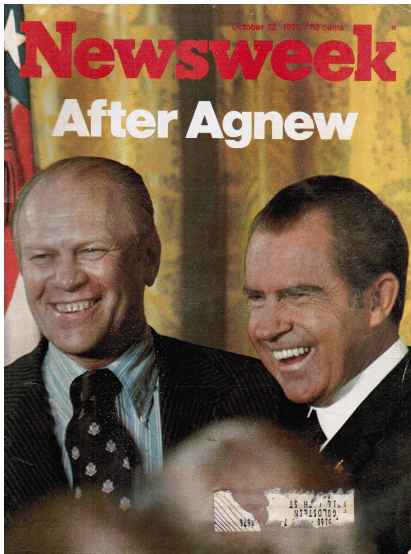 Image for Newsweek, October 22, 1973 - after Agnew