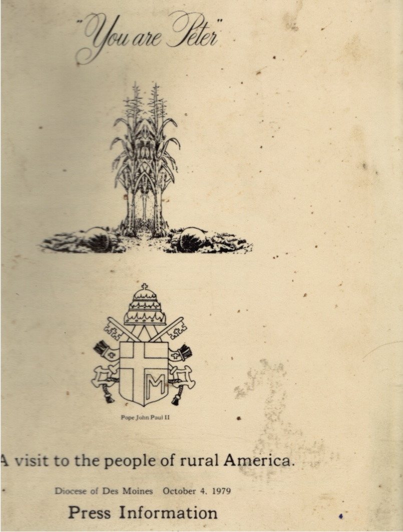 Image for You Are Peter : a Visit to the People of Rural America : Press Information, October 4, 1979 Papal Visit