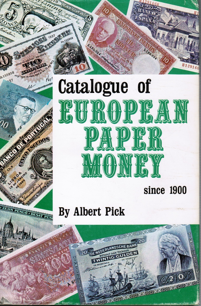 Image for Catalogue of European paper money since 1900