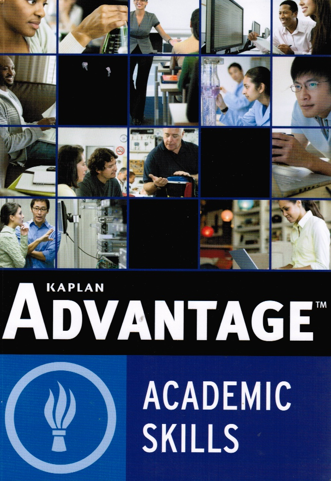 Image for Kaplan Advantage: Academic Skills