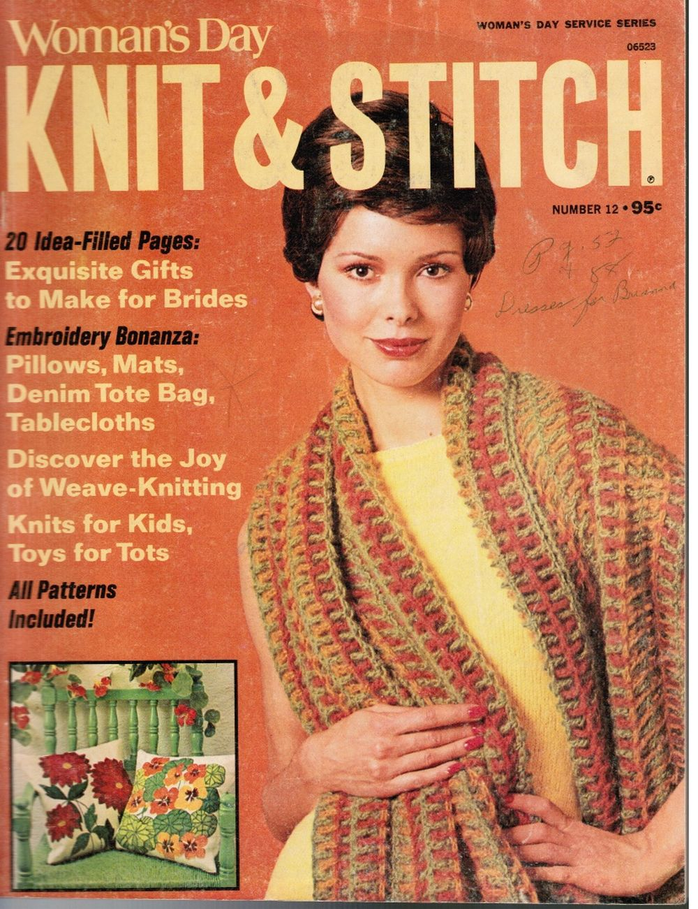 Image for Woman's Day Knit & Stitch #12