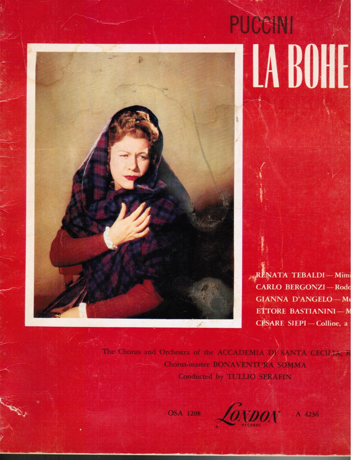 Image for Puccini : La Boheme