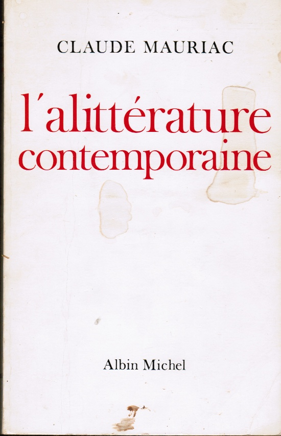 Image for Littrature  L'Allitrature