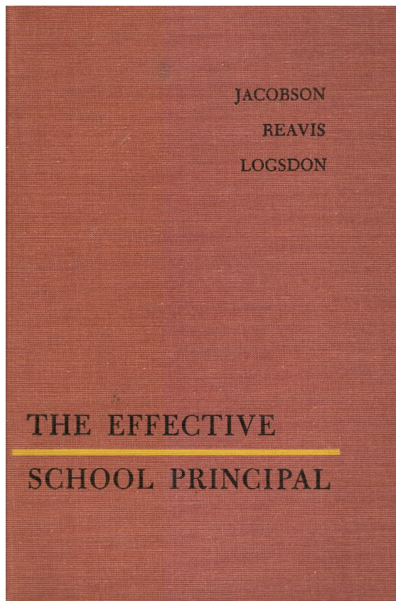 Image for The Effective School Principal