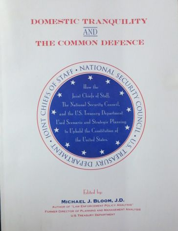 Image for Domestic Tranquility and the Common Defence (SIGNED)