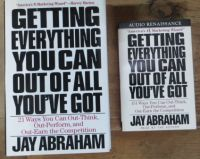 Image for Getting Everything You Can out of all You've Got: 21 Ways You Can Out-Think, Out-Perform, and Out-Earn the Competition (SIGNED)  Book PLUS Cassettes