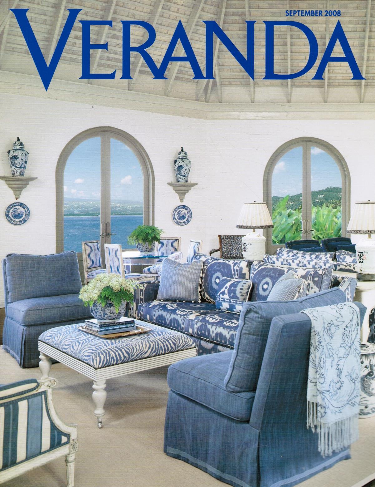 Image for Veranda, September 2008 Issue