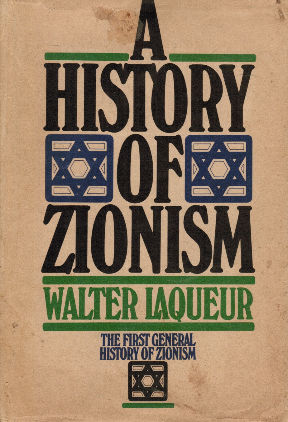 Image for A History of Zionism