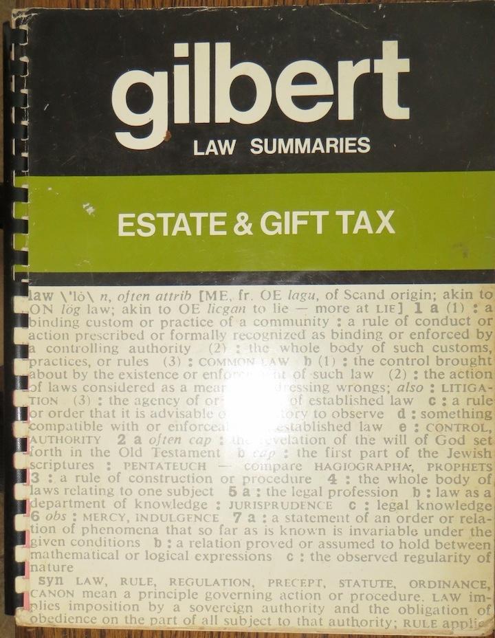 Image for Gilbert Estate & Gift Tax