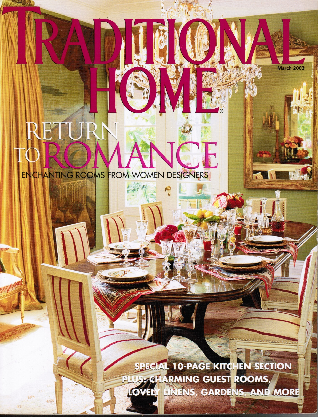 Image for Traditional Home Magazine: March 2003