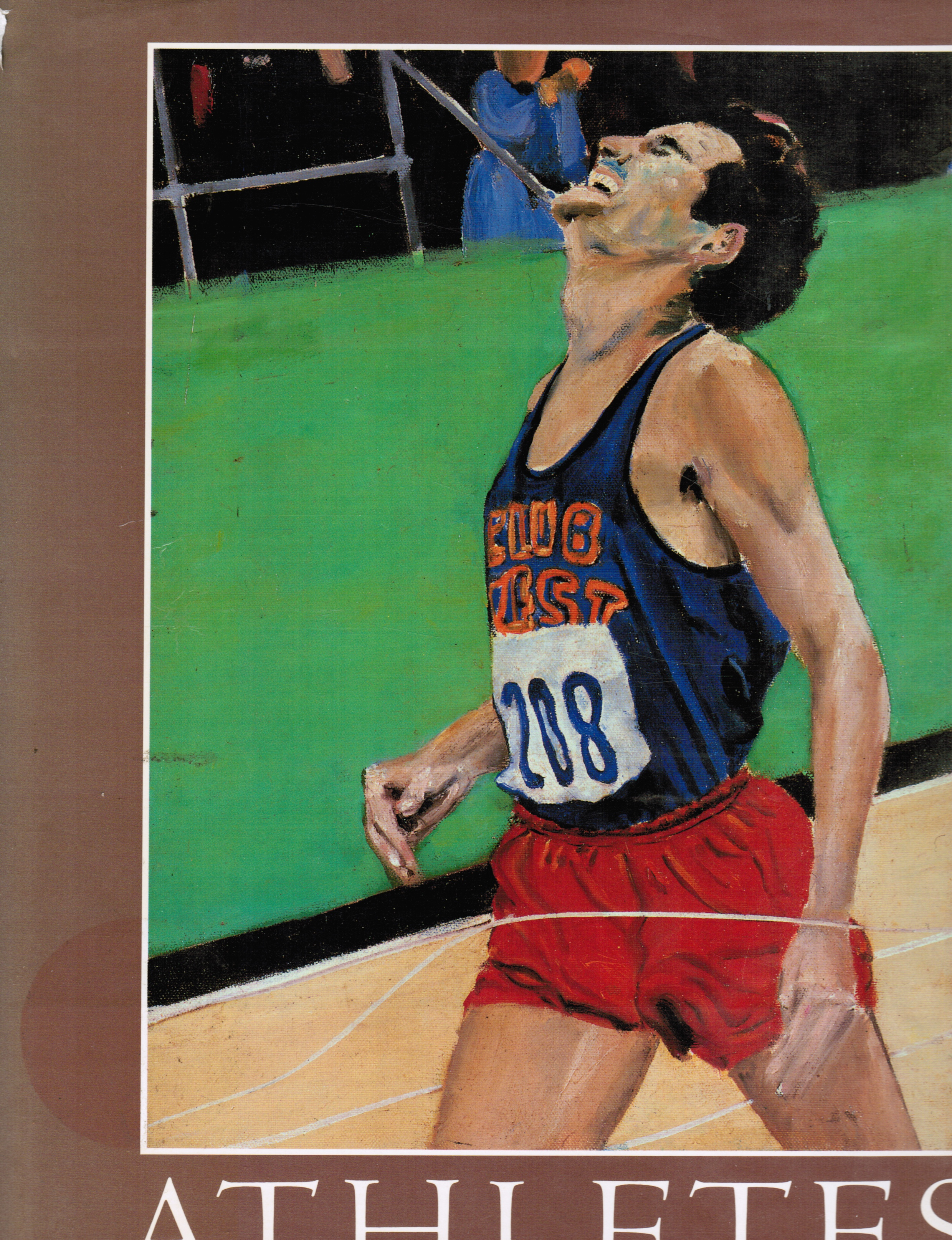 Image for Athletes: the Paintings of Joe Wilder, M. D.