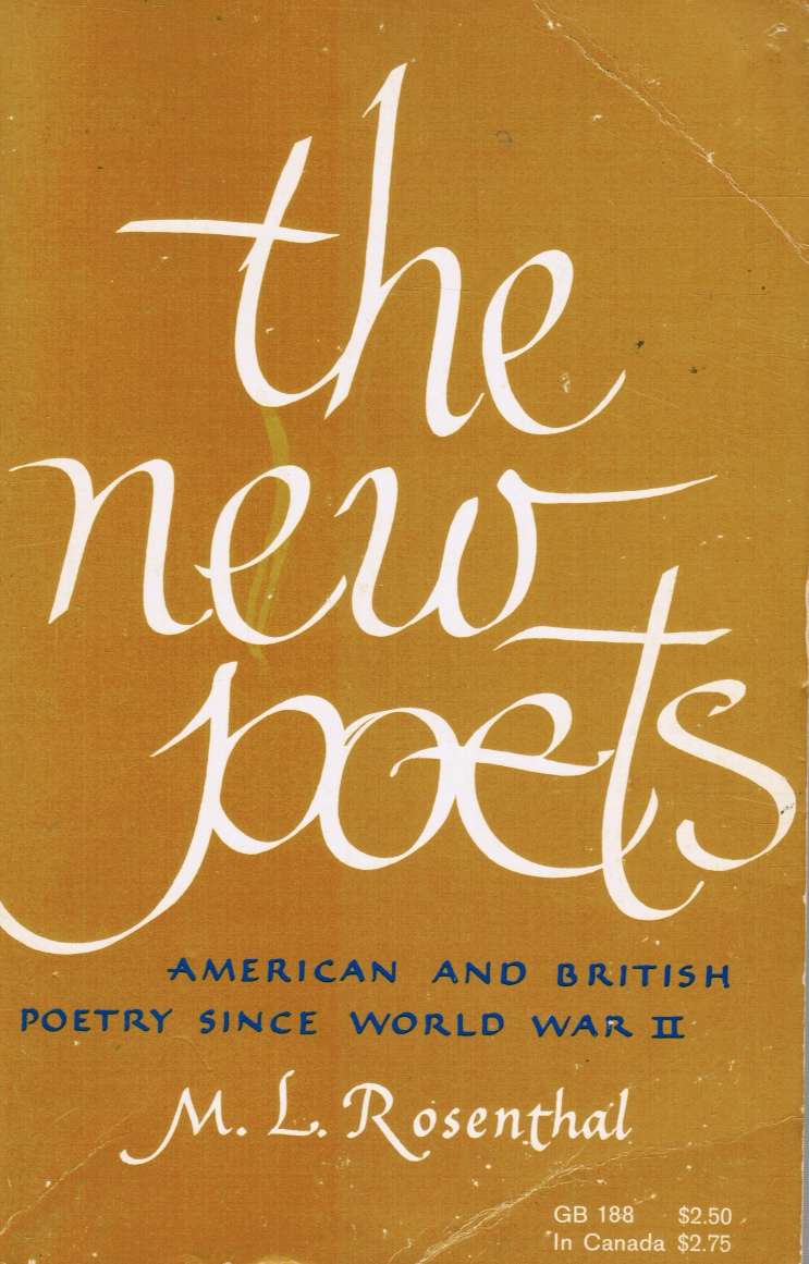 Image for the new poets: American and British Poetry Since WW II